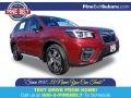 Subaru Forester 2.5i Touring Crimson Red Pearl photo #1