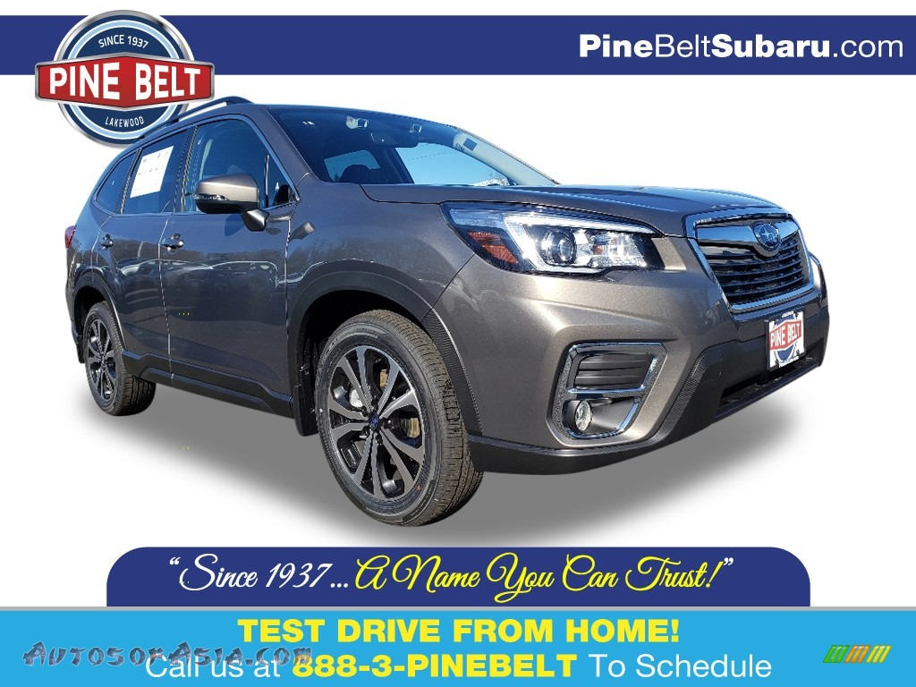2020 Forester 2.5i Limited - Sepia Bronze Metallic / Black photo #1