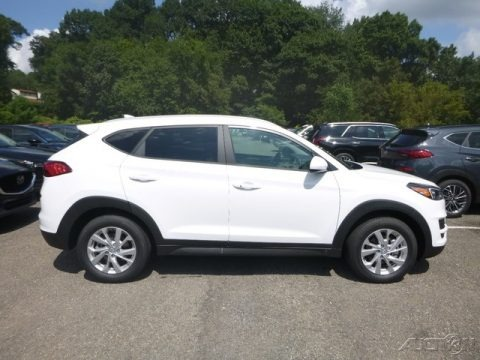 Winter White 2019 Hyundai Tucson Value AWD