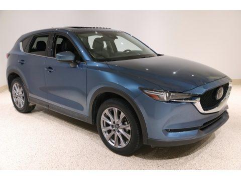 Eternal Blue Mica 2019 Mazda CX-5 Grand Touring AWD