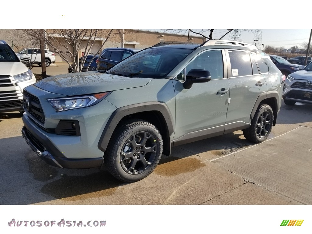2020 RAV4 TRD Off-Road AWD - Lunar Rock / Black photo #1