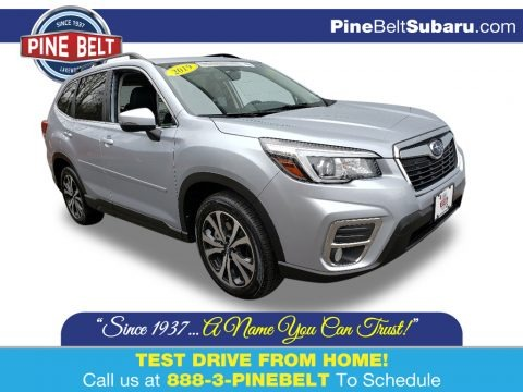 Ice Silver Metallic 2019 Subaru Forester 2.5i Limited