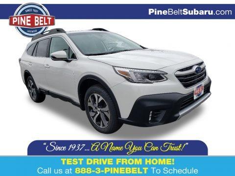 Crystal White Pearl 2020 Subaru Outback 2.5i Limited