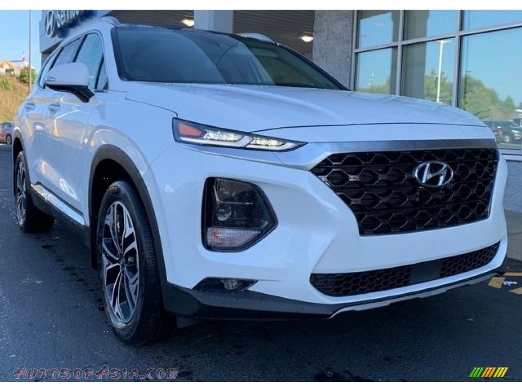 2020 Santa Fe SEL 2.0 AWD - Quartz White / Black photo #1
