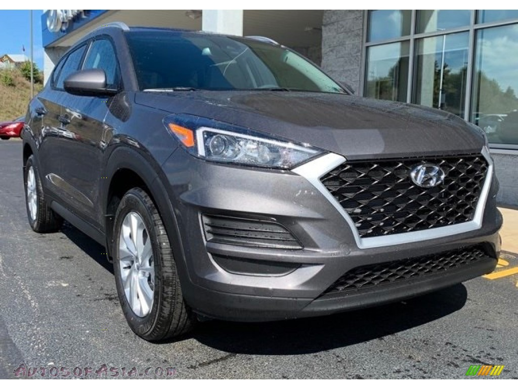 2020 Tucson Value AWD - Magnetic Force Metallic / Gray photo #1