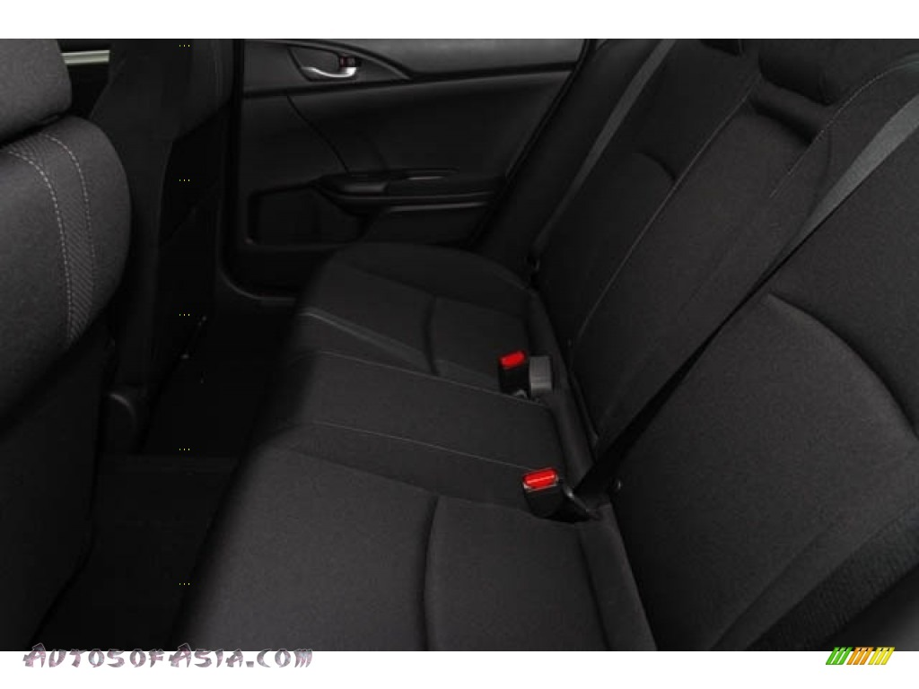 2020 Civic EX Sedan - Platinum White Pearl / Black photo #18