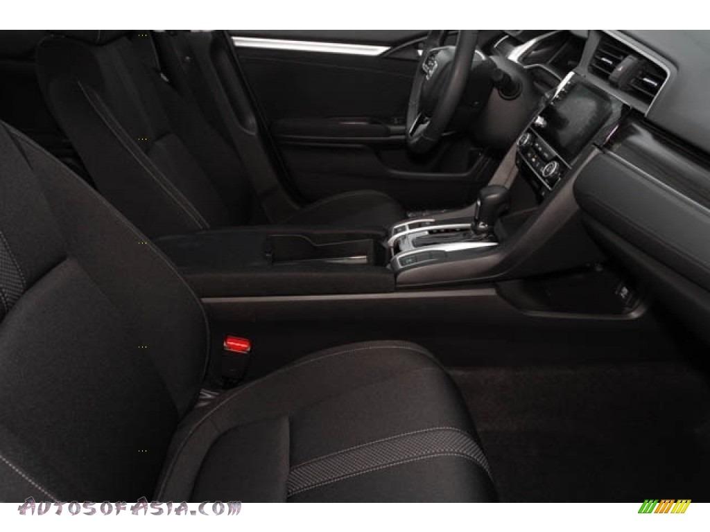 2020 Civic EX Sedan - Platinum White Pearl / Black photo #31