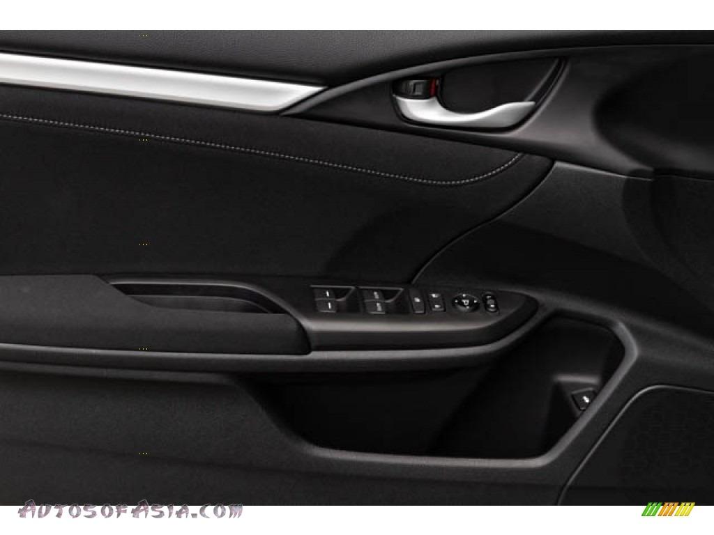 2020 Civic EX Sedan - Platinum White Pearl / Black photo #35