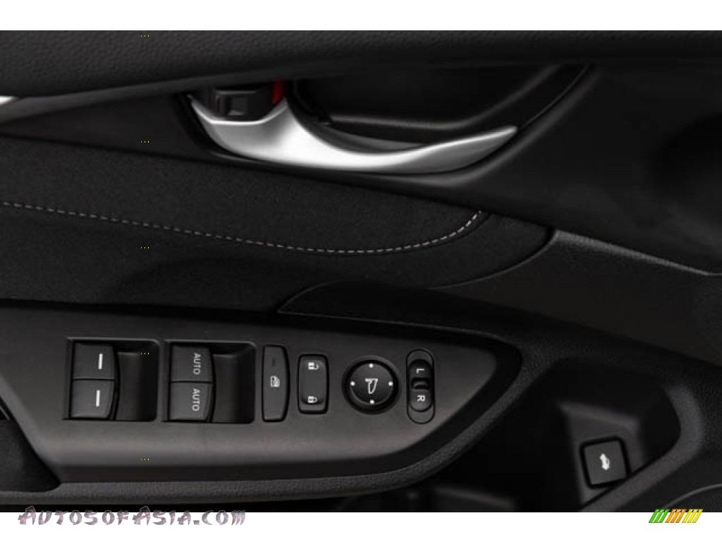 2020 Civic EX Sedan - Platinum White Pearl / Black photo #36