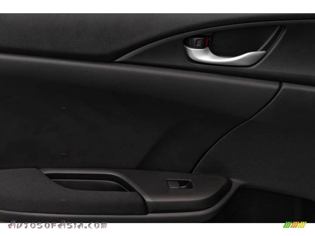 2020 Civic EX Sedan - Platinum White Pearl / Black photo #37
