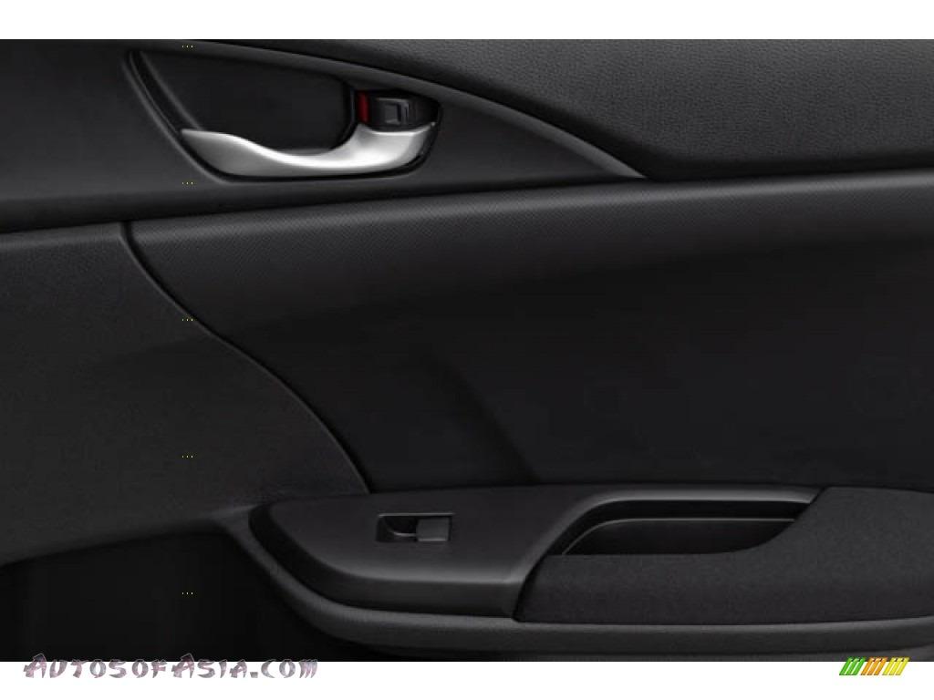 2020 Civic EX Sedan - Platinum White Pearl / Black photo #38