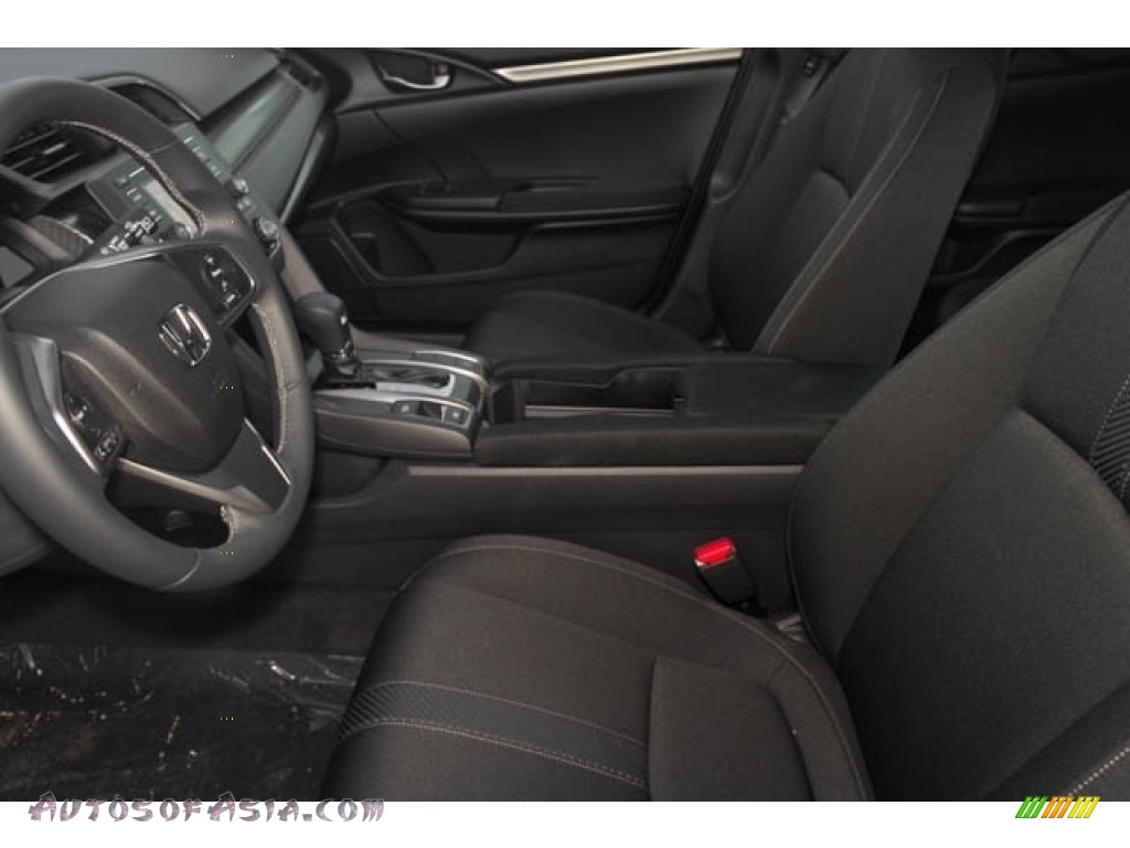 2020 Civic Sport Hatchback - Crystal Black Pearl / Black photo #7