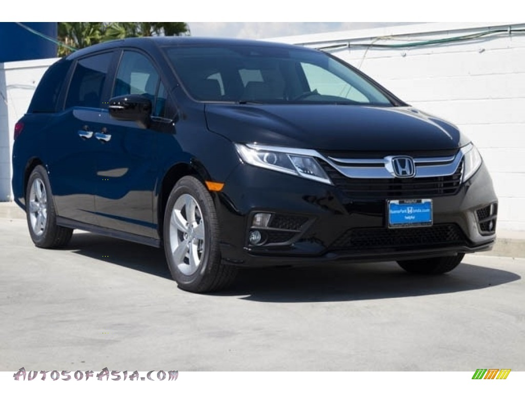 2020 Odyssey EX-L - Crystal Black Pearl / Gray photo #1