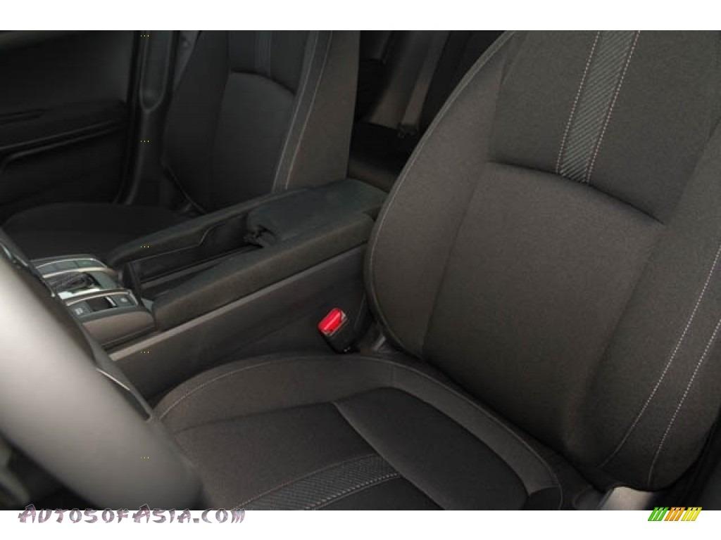 2020 Civic Sport Hatchback - Crystal Black Pearl / Black photo #12