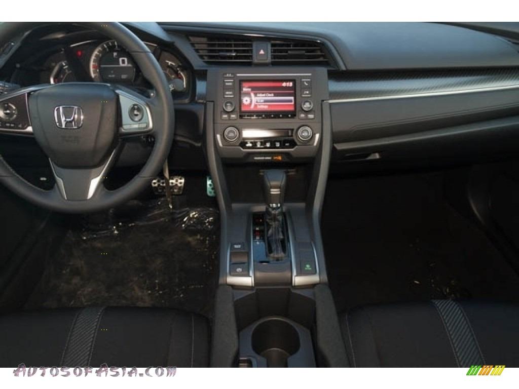 2020 Civic Sport Hatchback - Crystal Black Pearl / Black photo #14