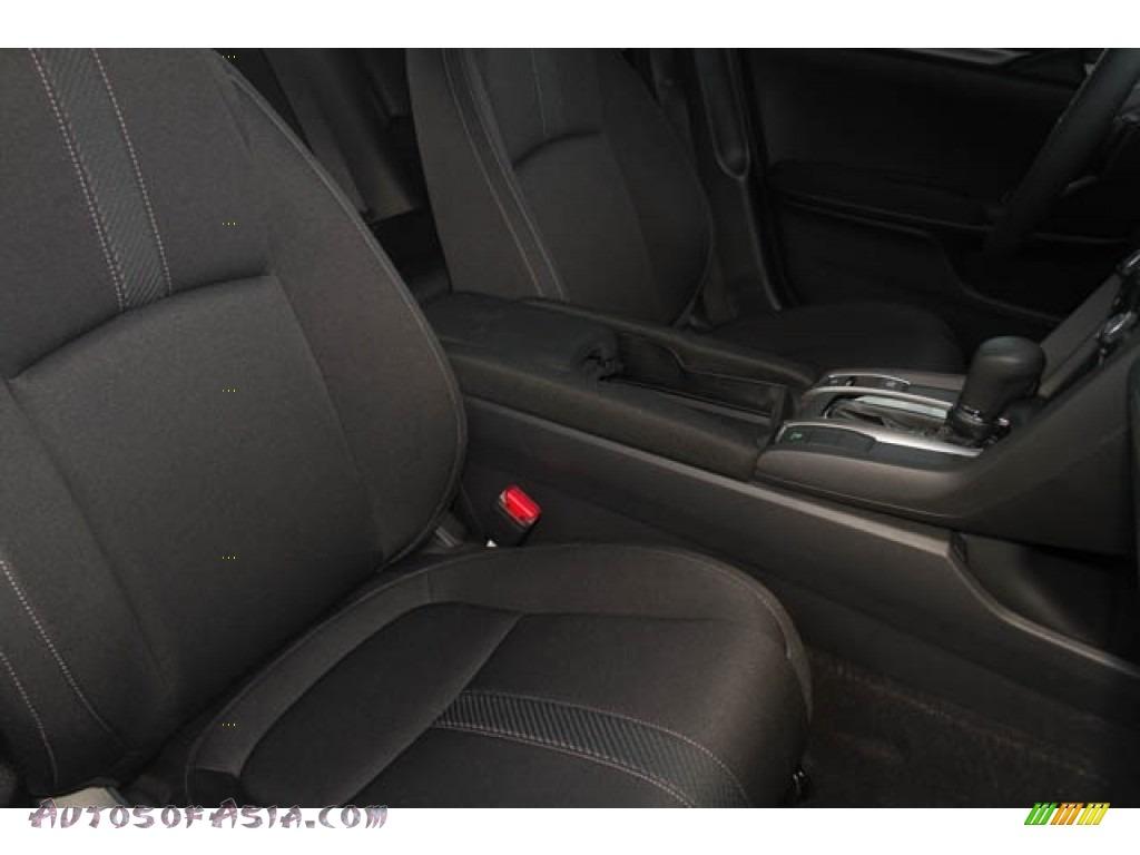 2020 Civic Sport Hatchback - Crystal Black Pearl / Black photo #20