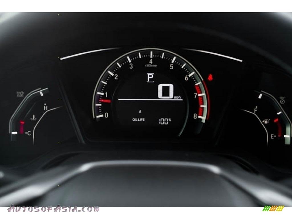 2020 Civic Sport Hatchback - Crystal Black Pearl / Black photo #22