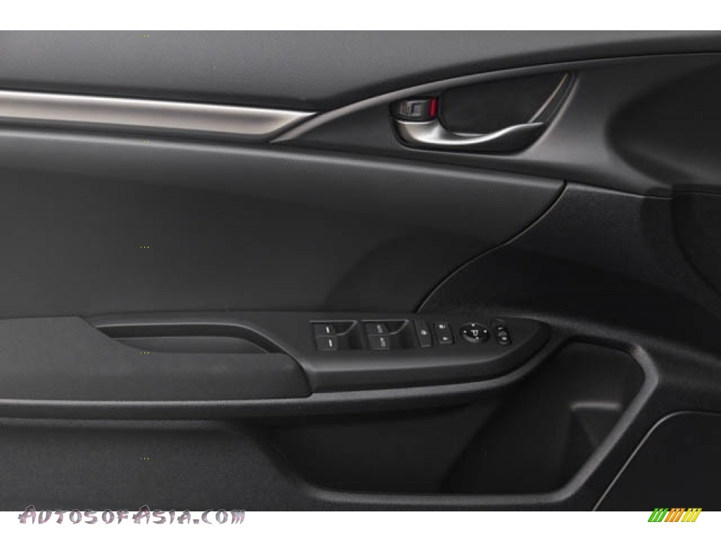 2020 Civic Sport Hatchback - Crystal Black Pearl / Black photo #23