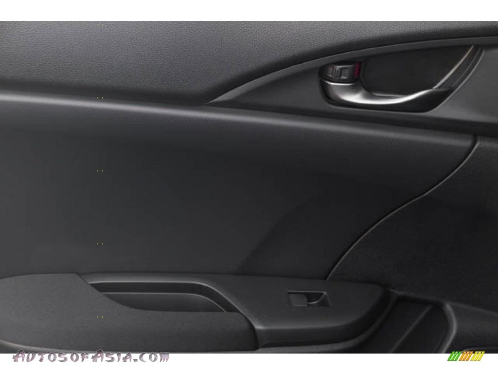 2020 Civic Sport Hatchback - Crystal Black Pearl / Black photo #25