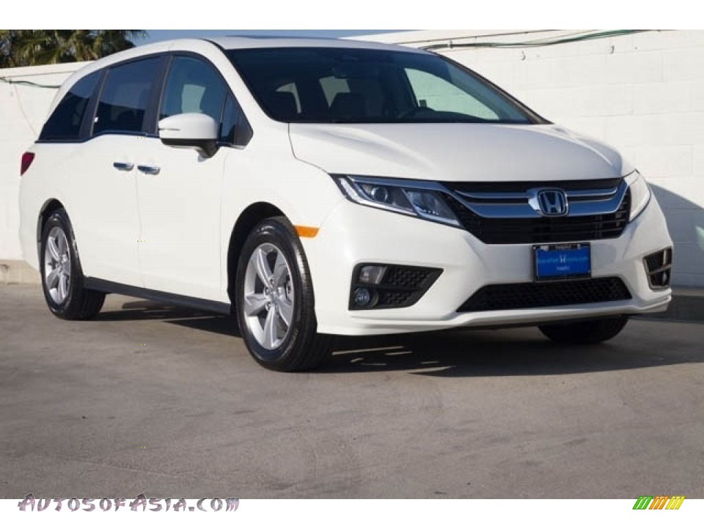 2020 Odyssey EX-L - Platinum White Pearl / Mocha photo #1