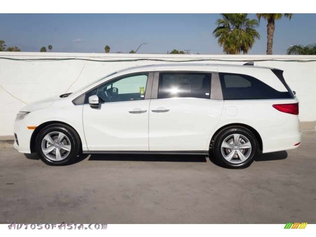 2020 Odyssey EX-L - Platinum White Pearl / Mocha photo #5