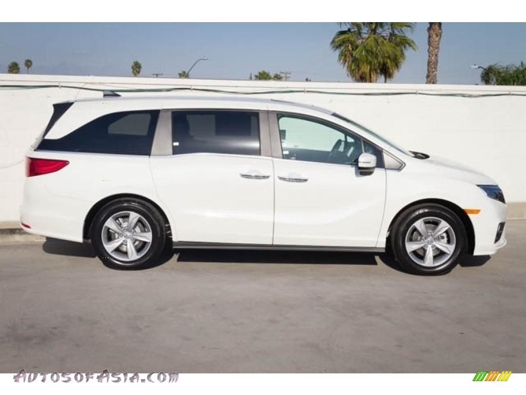 2020 Odyssey EX-L - Platinum White Pearl / Mocha photo #9