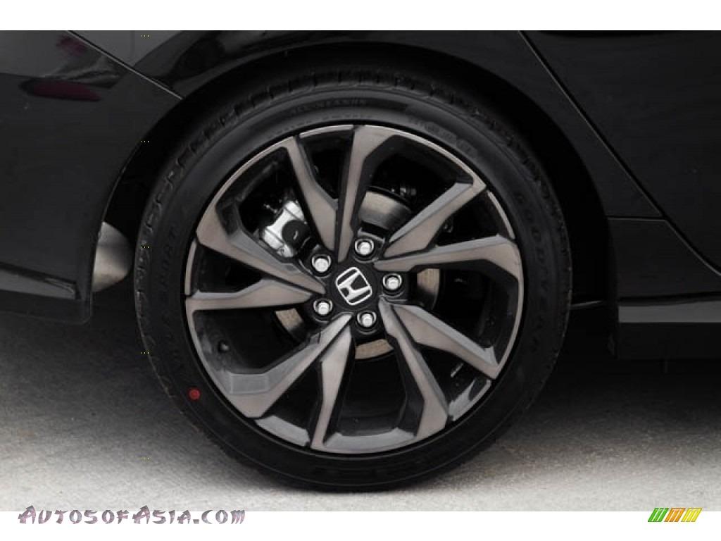 2020 Civic Sport Sedan - Crystal Black Pearl / Black photo #11