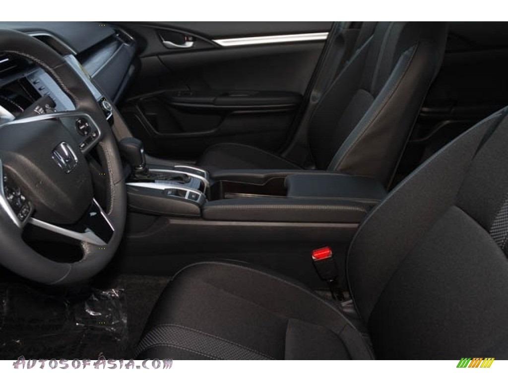 2020 Civic Sport Sedan - Crystal Black Pearl / Black photo #16