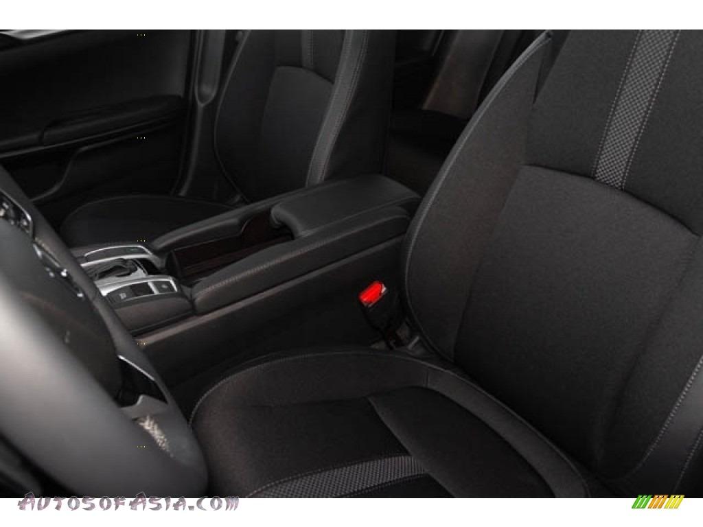 2020 Civic Sport Sedan - Crystal Black Pearl / Black photo #25