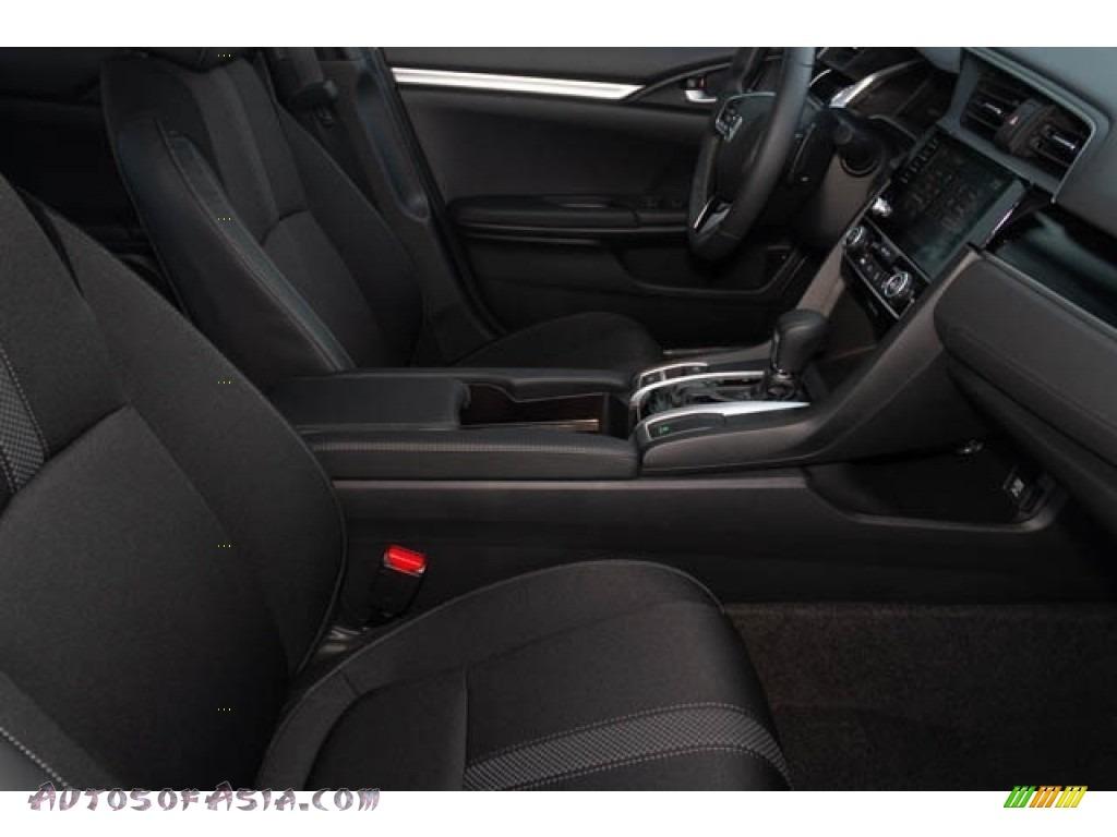 2020 Civic Sport Sedan - Crystal Black Pearl / Black photo #30