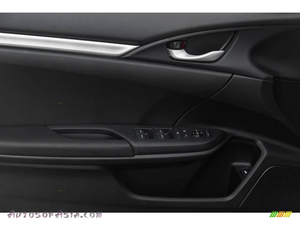 2020 Civic Sport Sedan - Crystal Black Pearl / Black photo #33