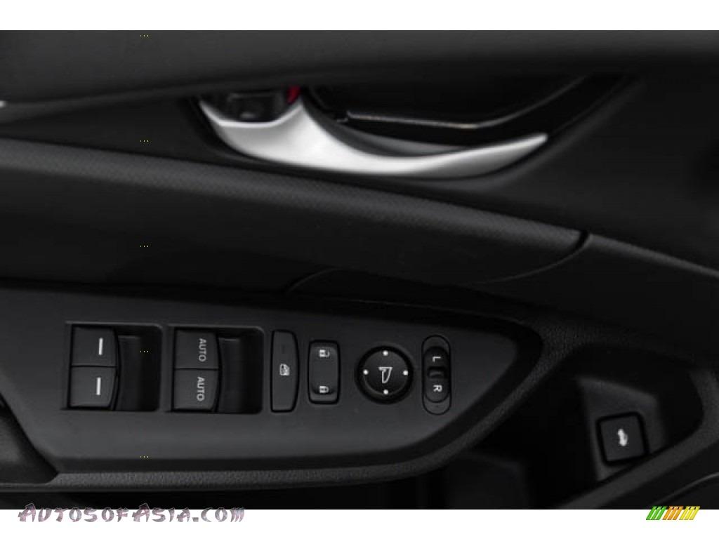 2020 Civic Sport Sedan - Crystal Black Pearl / Black photo #34