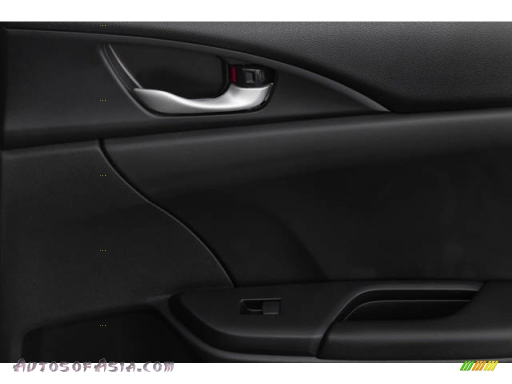 2020 Civic Sport Sedan - Crystal Black Pearl / Black photo #36