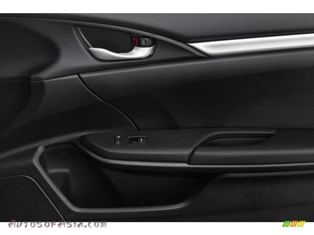 2020 Civic Sport Sedan - Crystal Black Pearl / Black photo #37