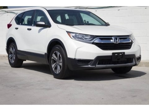 Platinum White Pearl 2019 Honda CR-V LX