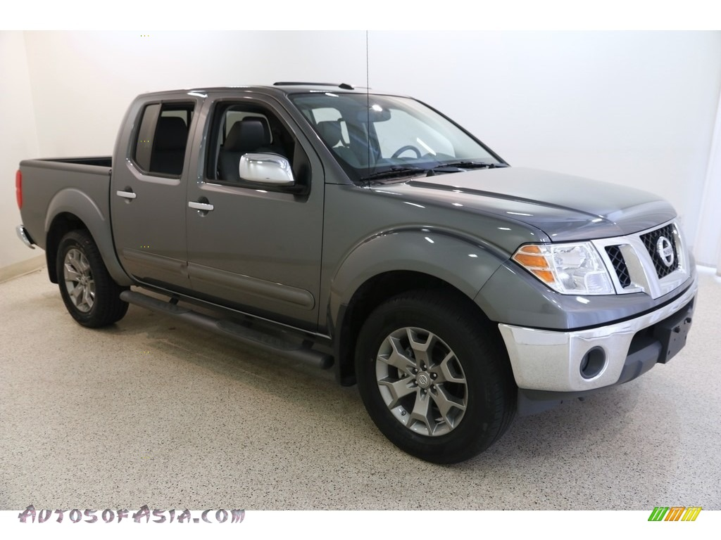 2019 Frontier SL Crew Cab 4x4 - Gun Metallic / Steel photo #1