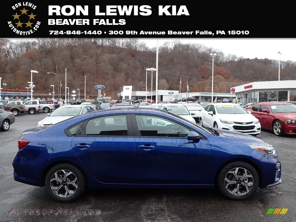 2020 Forte LXS - Deep Sea Blue / Black photo #1