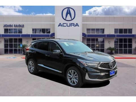 Majestic Black Pearl 2019 Acura RDX Technology
