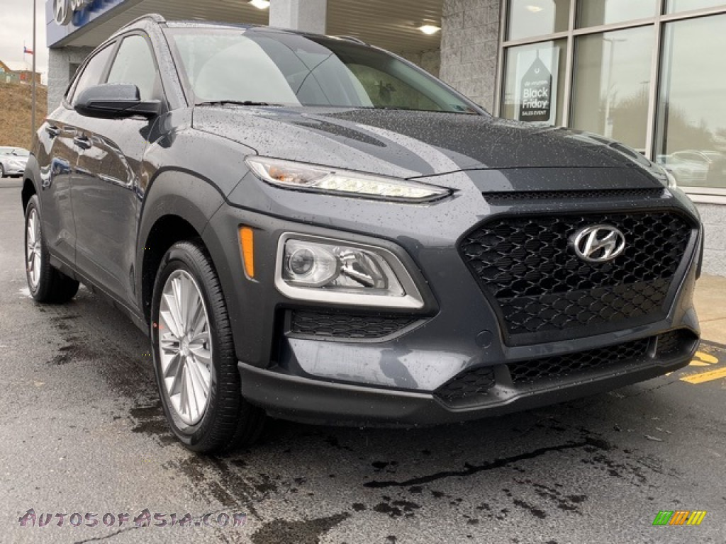 2020 Kona SEL AWD - Thunder Gray / Black photo #1