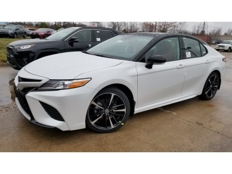 Wind Chill Pearl 2020 Toyota Camry XSE