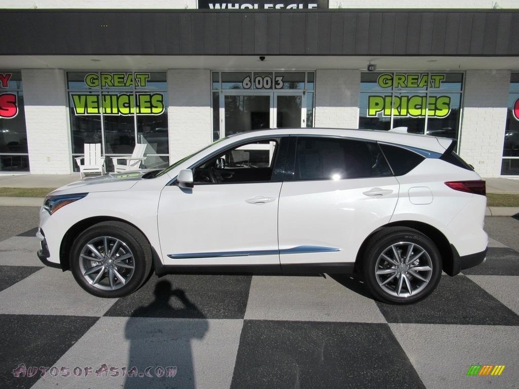 2020 RDX Technology AWD - Platinum White Pearl / Espresso photo #1