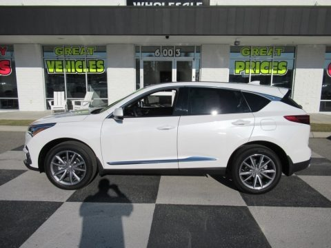 Platinum White Pearl 2020 Acura RDX Technology AWD
