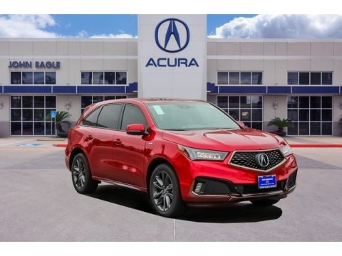 Performance Red Pearl 2020 Acura MDX Technology AWD