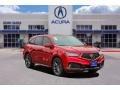Acura MDX Technology AWD Performance Red Pearl photo #1