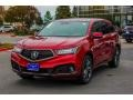 Acura MDX Technology AWD Performance Red Pearl photo #3