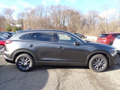 Machine Gray Metallic 2020 Mazda CX-9 Touring AWD