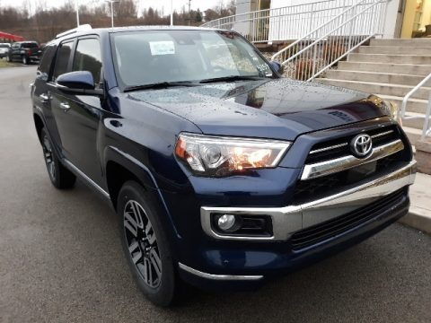 Nautical Blue Metallic 2020 Toyota 4Runner Limited 4x4