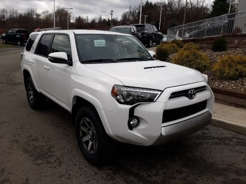 Super White 2020 Toyota 4Runner TRD Off-Road Premium 4x4