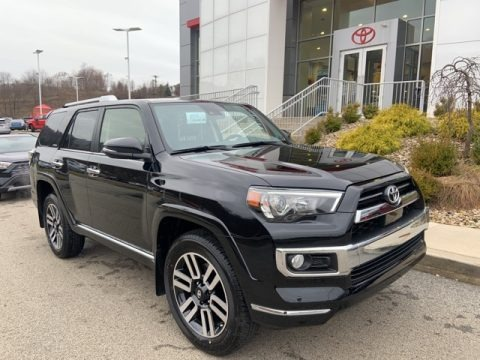 Midnight Black Metallic 2020 Toyota 4Runner Limited 4x4