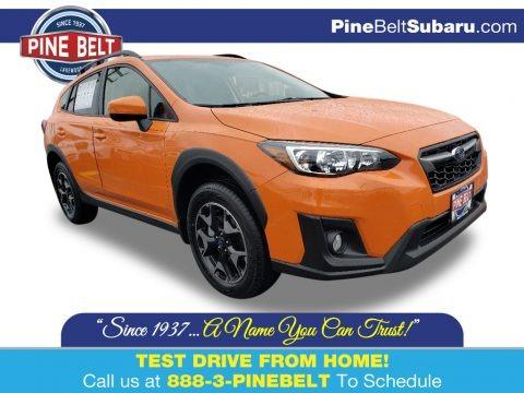 Sunshine Orange 2020 Subaru Crosstrek 2.0 Premium